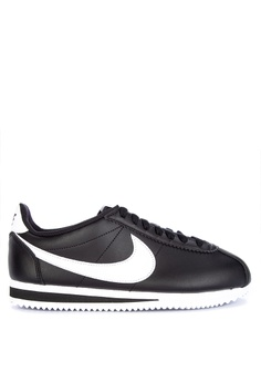 cheaper 52840 2b68a Nike black Nike Classic Cortez Leather Shoes F28DFSHF8EB357GS 1