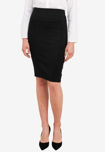 FORCAST black Taylor Pencil Skirt 98823AA18CC71CGS_1