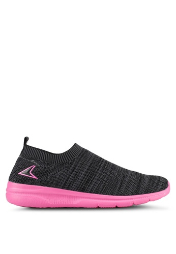 Power black Power Women Athletic Walking Shoes AEAFFSH205C147GS_1
