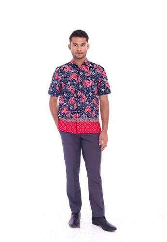 TUSCA black Eusoff Classic Batik Shirt B2FA4AA8220642GS_1