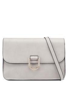 Grey D-Ring Crossbody Bag FD034ACBF4AFFCGS 1 Dorothy Perkins ... 7ed51ec23ef19