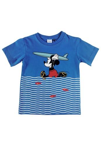 KIDS ICON blue KIDS ICON - Kaos Anak laki-laki 6 - 36 Bulan Mickey with Printing Detail - MB1K0100200 66DDBKA902A6B5GS_1