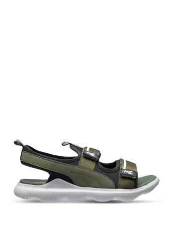 Louis Cuppers green Louis Cuppers Sandals & Flip Flops F1888SHAFAA305GS_1