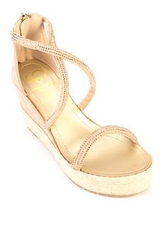 Logan Wedges Sandals