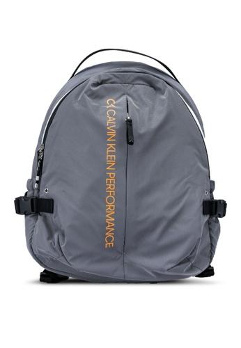 Calvin Klein silver 38cm Backpack 390B0AC065A40AGS_1