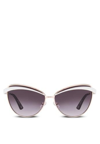 JP0321 貓眼造型太陽眼鏡, 飾品配件, 飾esprit 鞋品配件