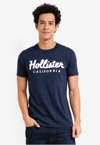 Hollister navy International Blues Tech T-Shirt E7BCDAA2061AE1GS_1