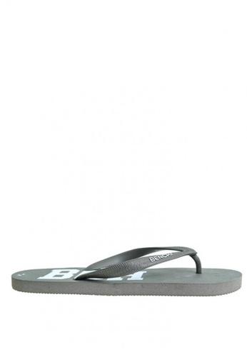 BENCH grey Rubber Slippers BE550SH0KE4CPH_1