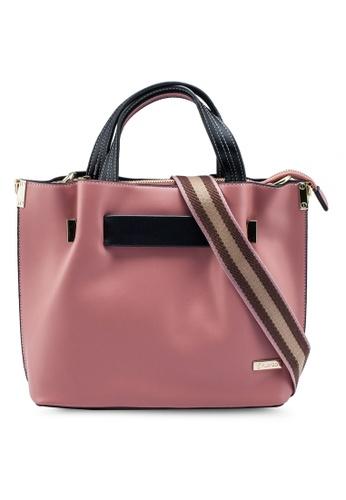 PLAYBOY BUNNY pink Ladies Handbag B6017ACF8412FFGS_1