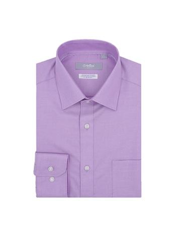Goldlion purple Goldlion Nanotech Wrinkle Free Long-Sleeved Shirt 2EC9DAA1A3C224GS_1