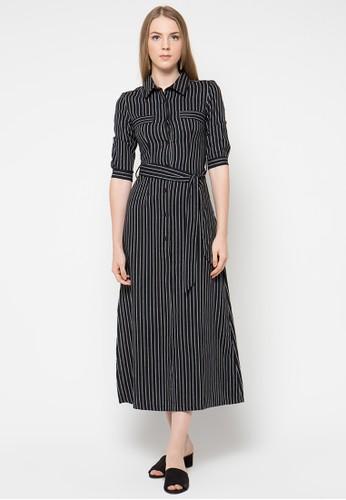 MDS black Lilynne Dress MD839AA92SGLID_1