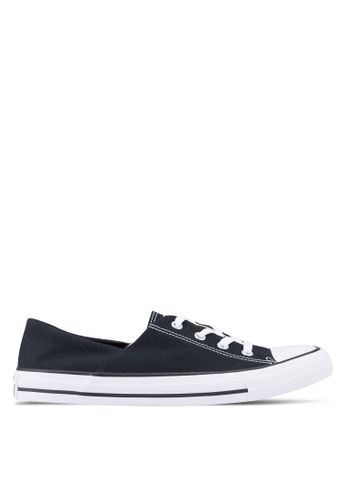 Converse black Chuck Taylor All Star Coral Ox Sneakers CO302SH74NNDMY_1