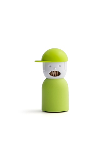 Qualy Qualy Picky Boy Toothpick Holder (Green) 7EC38HLD06EBABGS_1