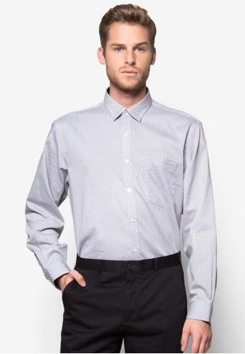 正裝長袖襯esprit 內衣衫, 服飾, 印花襯衫