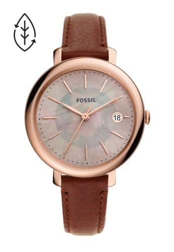 Fossil brown Jacqueline Watch ES5121 1A84DAC86C0C4EGS_1