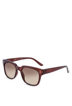 a34f22041468 Topman brown Classic Honey 50 S Sunglasses 9AB1BGL191FB2DGS 1