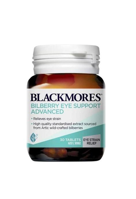 BLACKMORES BLACKMORES - 支援護眼藍莓素 30粒 (護眼緩疲勞) (平行進口)