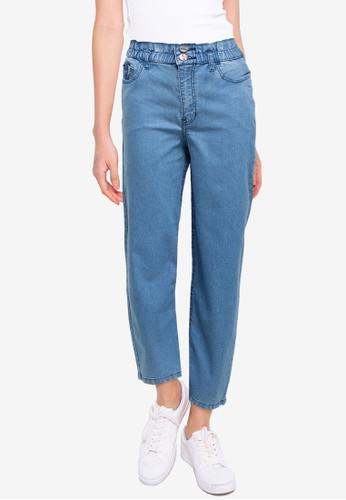 Denim Crew blue Women Paper Waist Denim Pants 39008AA8A73068GS_1