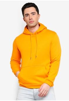 390667076868 Factorie orange Basic Hoodie 4C2ABAA08B9391GS 1