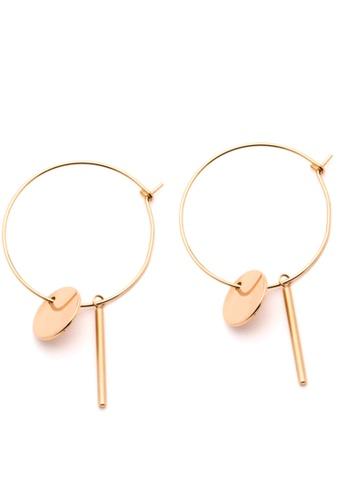 Pastiche gold Desert Moon Earrings C08EBACE46E1C9GS_1
