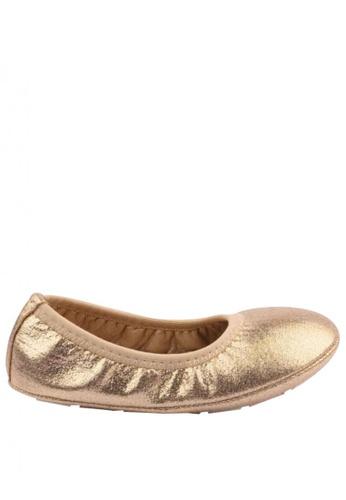 Meet My Feet gold Meet My Feet Poppy (Girl's Mallow Walkers) ECBC6KSC039ED1GS_1