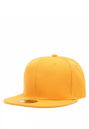afdb9fdff69 Cap City International yellow Flat Brim Unisex Plain Blank Snapback Pure Cap  CA260AC0JJYGPH 1