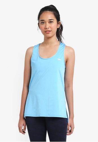 Running Bare blue Workout Tank 589C2AAA7175E2GS_1