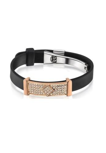 ADORA Silicon Bracelet AD365AC50GDTHK_1