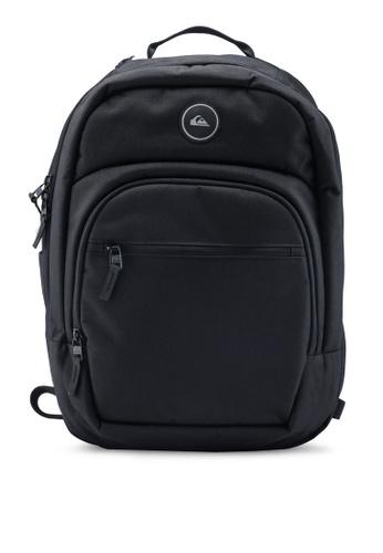 95970eefa7fd Quiksilver black Schoolie Cooler 25L Medium Backpack 78FE4AC8B898B2GS_1