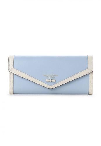 Samantha Thavasa blue Samantha Thavasa Petit Choice Aletta Long Wallet 58736ACCCBD3D5GS_1