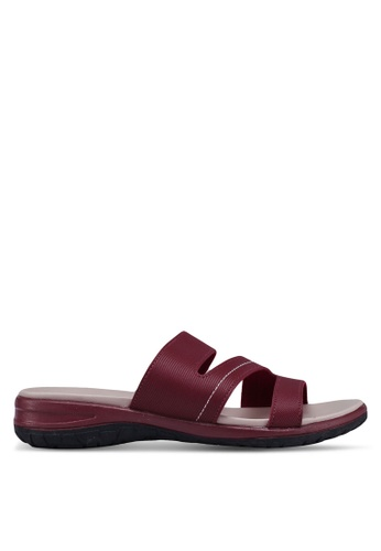 Bata red Slide On Sandals 4632ESHFE3FA9FGS_1