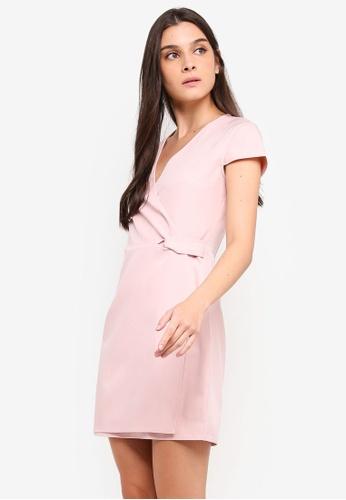 05a2270ce75b Shop ZALORA Twist Detail Semi Formal Dress Online on ZALORA Philippines