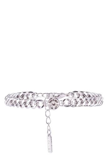 Mestige 銀色 閃亮手環With Swarovski Crystals 1D63CAC0C7FDE3GS_1