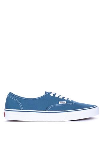 VANS navy Authentic Sneakers 470FBSH1AD48D5GS_1