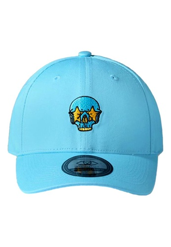 DEEP Lifestyles(DPLS) blue SMILEY FACE POLO CAP BFC31AC8EE6624GS_1