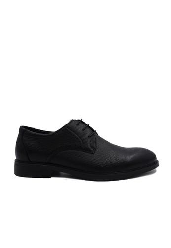 Goldlion black Goldlion Premium Derby Shoes in Black (HSH115SP92B-99) 667FDSHF4CB4B6GS_1