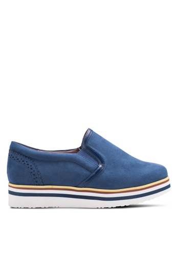Nose blue Casual Slip Ons NO327SH68AEHMY_1