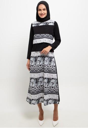 Cressida Ladies black Amira Dresses 75671AAA0AE2E3GS_1