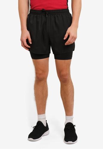 2GO black GO Dry Sports Shorts 2G729AA0S5WAMY_1