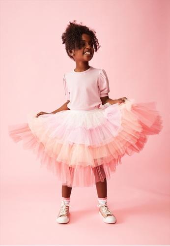 Cotton On Kids pink Trixiebelle Tulle Skirt 73111KAD1E4B70GS_1