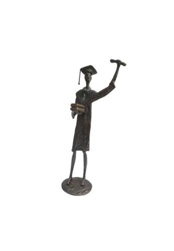 S&J Co. Home Decor Resin Figurines Achievement Congrats Handicraft Ornament Gift - Graduate Statue C260AHLA4BD9AEGS_1