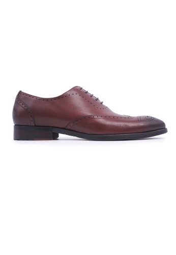 Simon Carter brown Simon Carter Lace-up Oxfords - Burgundy 2ABEASHF24ABFCGS_1