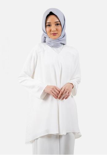 QUEENSLAND white Blouse Putih Lengan Panjang A03987Q D3001AA23989BCGS_1