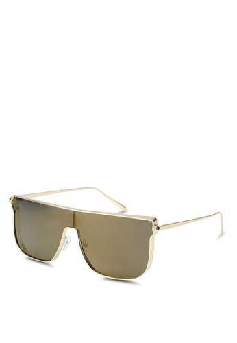 Jeepers Peepers 金色 有色太陽眼鏡 2F9F3GL03DF798GS_1