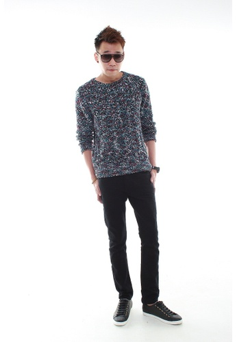 MSHRetail black Casual Slim Fit Jeans (Black) MS585AA17CKWSG_1