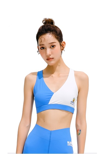 B.Duck blue B.Duck Women Training Sports Bra 1C516US834B817GS_1