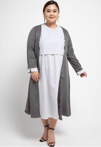 Cressida Ladies grey Faith Dress 80D84AA363B0AAGS_1
