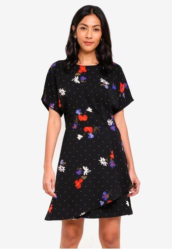 0b184b8655eb2 Buy WAREHOUSE Scatter Floral Dress | ZALORA HK