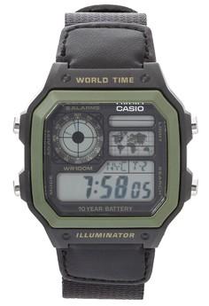 Digital Watch AE-1200WHB-1B