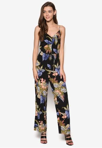 棕櫚印花連身褲, 服飾esprit高雄門市, 連身褲